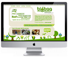 BioBag Minisite Design